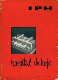 Hospital de Cl�nicas da Cidade Universit�ria da Universidade do Brasil Luiz Hildebrando de B. Horta Barbosa - Chefe do escrit�rio t�cnico; Jorge Machado Moreira - Arquiteto Chefe  Maquete de estudo - vista a�rea
