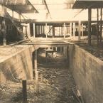 Foto da construcao do Hospital Geral da Guarnicao do Galeao, 1967, RJ.