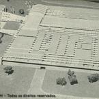 Foto da Revista da Aeronautica - Maquete Hospital do Galeao, RJ.