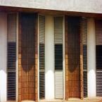 Detalhe da fachada da Associação Instrutora da Juventude Feminina.