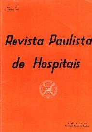 Capa da Revista Paulista de Hospitais