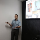 Eng. Sergio Castellari palestra sobre IT Médico