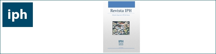 Chamada de trabalhos para a Revista IPH nº 11
