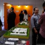 Muito bate papo sobre arquitetura durante todo os dias do evento.